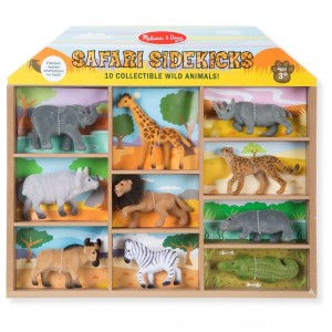 Black Friday 2020 - Melissa & Doug Safari Sidekicks - 10 Collectible Wild Animals