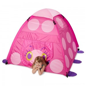 Black Friday 2020 - Melissa & Doug Sunny Patch Trixie Ladybug Camping Tent