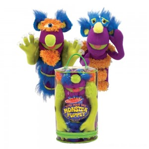 Black Friday 2020 - Melissa & Doug Make-Your-Own Fuzzy Monster Puppet Kit With Carrying Case (30pc)