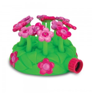 Black Friday 2020 - Melissa & Doug Sunny Patch Blossom Bright Sprinkler Toy With Hose Attachment, Kids Unisex