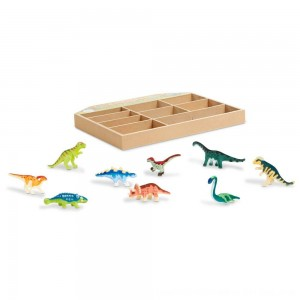 Black Friday 2020 - Melissa & Doug Dinosaur Party Play Set - 9 Collectible Miniature Dinosaurs in a Case