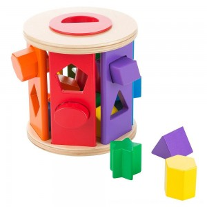 Black Friday 2020 - Melissa & Doug Match and Roll Shape Sorter - Classic Wooden Toy