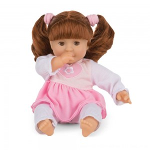 "Black Friday 2020 - Melissa & Doug Standard Mine to Love Brianna 12"" Soft Body Baby Doll"