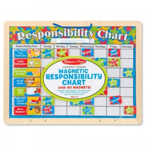 Black Friday 2020 - Melissa & Doug Magnetic Responsibility Chart