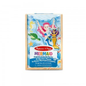 Black Friday 2020 - Melissa & Doug Mermaid Magnetic Dress-up
