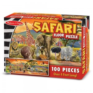 Black Friday 2020 - Melissa And Doug African Plains Safari Jumbo Floor Puzzle 100pc