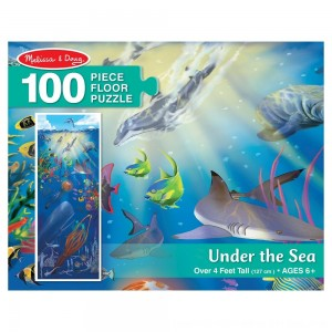 Black Friday 2020 - Melissa And Doug Under The Sea Jumbo Floor Puzzle 100pc