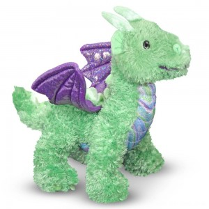 Black Friday 2020 - Melissa & Doug Zephyr Dragon Stuffed Animal