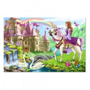 Black Friday 2020 - Melissa And Doug Fairy Tale Castle Jumbo Floor Puzzle 24pc
