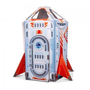 Black Friday 2020 - Melissa & Doug Rocket Ship Indoor Corrugate Playhouse