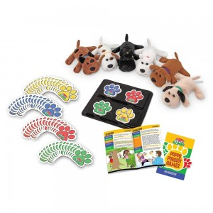 Black Friday 2020 - Melissa & Doug Puppy Pursuit Games - 6 Stuffed Dogs, 60 Cards - 10 Games With Variations