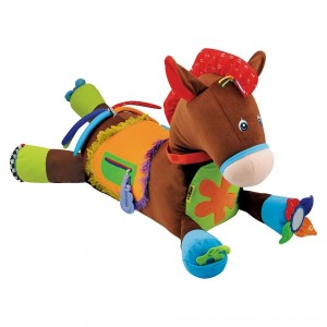 Black Friday 2020 - Melissa & Doug Giddy-Up and Play Baby Activity Toy - Multi-Sensory Horse