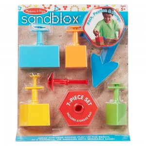 Black Friday 2020 - Melissa & Doug Sandblox Sand Shape-and-Mold Tool Set