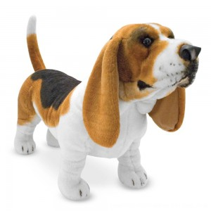 Black Friday 2020 - Melissa & Doug Giant Basset Hound