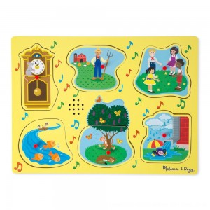 Black Friday 2020 - Melissa & Doug Nursery Rhymes 1 - Sound Puzzle 6pc