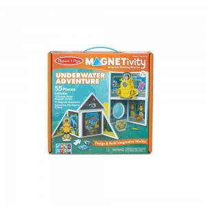 Black Friday 2020 - Melissa & Doug Magnetivity - Underwater Adventure Set
