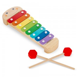 Black Friday 2020 - Melissa & Doug Caterpillar Xylophone Musical Toy With Wooden Mallets