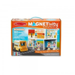 Black Friday 2020 - Melissa & Doug Magnetivity - School