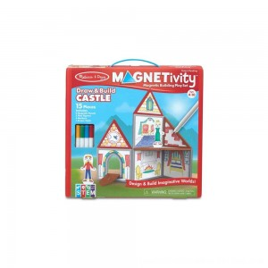 Black Friday 2020 - Melissa & Doug Magnetivity - Draw & Build Castle