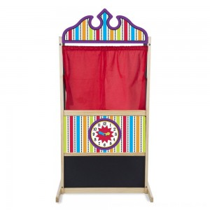 Black Friday 2020 - Melissa & Doug Deluxe Puppet Theater - Sturdy Wooden Construction