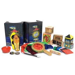Black Friday 2020 - Melissa & Doug Deluxe Solid-Wood Magic Set With 10 Classic Tricks