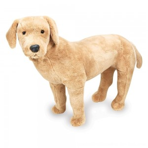 Black Friday 2020 - Melissa & Doug Giant Yellow Labrador - Lifelike Stuffed Animal Dog (nearly 2 feet tall)