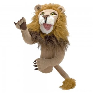 Black Friday 2020 - Melissa & Doug Rory the Lion Puppet With Detachable Wooden Rod for Animated Gestures