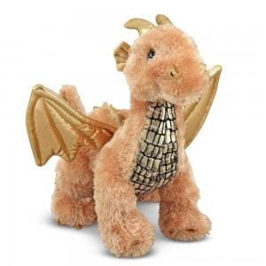 Black Friday 2020 - Melissa & Doug Luster Dragon Stuffed Animal