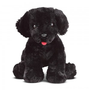 Black Friday 2020 - Melissa & Doug Benson Black Lab - Stuffed Animal Puppy Dog