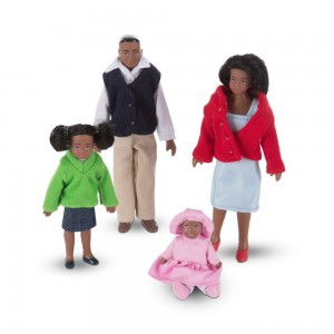 Black Friday 2020 - Melissa & Doug Victorian Doll Family