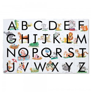 Black Friday 2020 - Melissa And Doug Learn The Alphabet Floor Puzzle 24pc